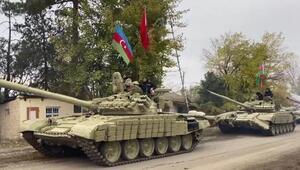 Son dakika haber... Azerbaycan ordusu 27 yıl sonra Ağdamda