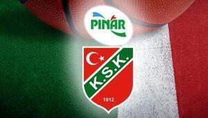 Pınar Karşıyaka 3 hafta sonra Basketbol Süper Ligi için parkede