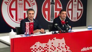 Son Dakika | Ersun Yanal, Antalyaspor ile imzaladı Hedefimiz zirve...