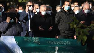 Bakan Pekcanın acı günü Cenaze törenine Cumhurbaşkanı Erdoğan da katıldı...