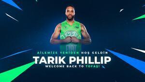 Son dakika | Tarik Phillip yeniden TOFAŞta | Basketbol haberleri
