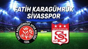 Fatih Karagümrük Sivasspor maçı saat kaçta, hangi kanalda