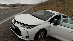Gürün'de otomobil takla attı: 1'i ağır 3 yaralı