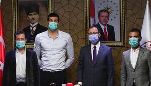 Bakan Kasapoğlu, Emre Sakçı'yı kabul etti
