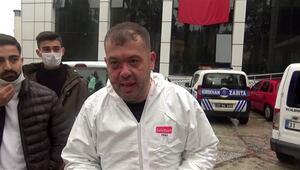 Hatay'da vaka almaya giden ambulans şoförünü darp ettiler