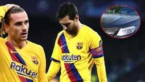 Son Dakika Haberi | Barcelonada bir kriz daha Taraftarlar arabanın önünü kesti, olay oldu: Lionel Messi...