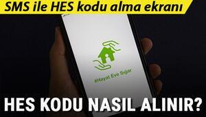 HES kodu nasıl alınır Adım adım e devlet SMS ve Hayat Eve Sığar ile HES kodu alma- sorgulama ekranı