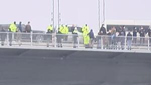 Son dakika... 15 Temmuz Şehitler Köprüsünde şok 2 kişi intihar girişiminde bulundu