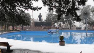 Erzurum kar ve sise teslim oldu
