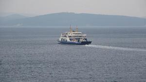 Gökçeadaya bazı feribot seferleri iptal edildi