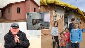 Ispartada toprak damlı evde yaşam mücadelesi veren 7 kişilik aile yeni evlerine kavuştu