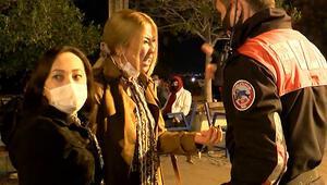 Antalyada turistler ortalığı birbirine kattı