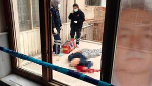 Son dakika haberler: Konyada kan donduran olay Apartman boşluğunda bulundu