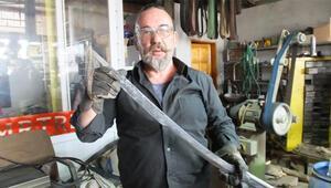 Tarihi diziler Osmanlı kılıçlarına ilgiyi arttırdı, taleplere yetişemiyor