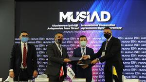MÜSİAD Expoda iş birliği anlaşması