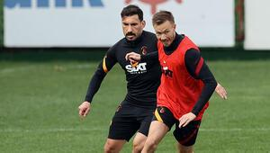 Galatasarayda Kayserispor maçı hazırlıkları sürüyor