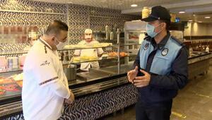 İstanbul'da koronavirüs denetimleri; restoranlar paket servise geçti