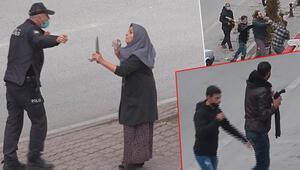 Son dakika haberler: Çorbacıdaki tartışma sokağa taştı Taşlı sopalı kavga kamerada