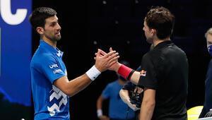 Djokovici 2-1 mağlup eden Avusturyalı Thiem finale çıktı