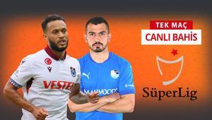 Trabzonspor, Abdullah Avcı ile ilk maçında BB Erzurumspor karşısında galibiyetlerine iddaada...