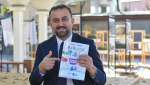 Öğrenciler boyarken Ankara'yı öğrenecek