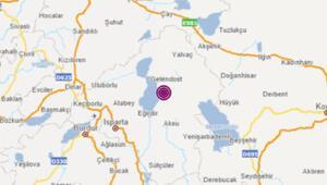 Son dakika deprem haberi: Ispartada aynı bölgede üst üste deprem