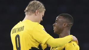 Haaland hat-trick yaptı, Borussia Dortmund fark attı