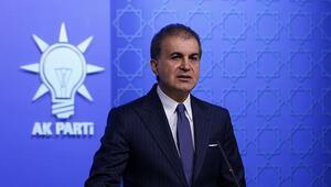 AK Parti Sözcüsü Ömer Çelikten CHPli Çeviköze tepki
