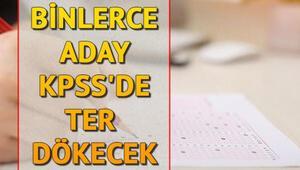 KPSS sınavı saat kaçta bitecek, kaç dakika sürecek İşte KPSS ortaöğretim sınav süresi