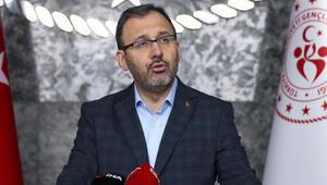 Gençlik ve Spor Bakanı Mehmet Kasapoğlu, TSYD Ankara Şubesi yönetimini ağırladı