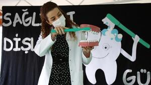 Büyükşehirden miniklere diş sağlığı eğitimi