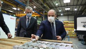 Sanayi ve Teknoloji Bakanı Mustafa Varank, Milli Turbojet Motorunu test etti