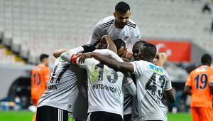 Beşiktaş eksiklere aldırmadı, Başakşehiri yıktı