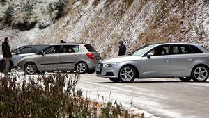 Yedigöller'e gelen tatilcilere kar engeli Yol trafiğe kapatıldı, geri döndüler