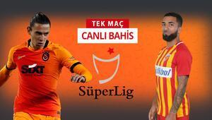 Galatasarayda 6 eksik, 3 şüpheli Kayserispor karşısında galibiyetlerine iddaada...