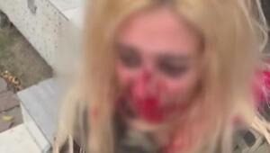 Son dakika haberleri... İstanbulda dehşet Kadını dövüp yola attı