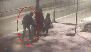 Annesinin yanında yürüyen 12 yaşındaki kız çocuğuna taciz O anlar kamerada