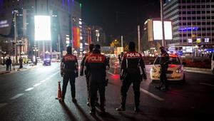 Ankarada sokağa çıkma kısıtlamasını ihlal eden 798 kişiye para cezası