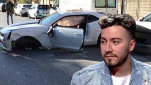 Son dakika haberler: Enes Batur kaza yaptı... Etilerde bir ağaca çarptı, otomobili kullanılamaz hale geldi
