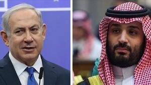 İsrail gazetesi: Netanyahu, dün Suudi Arabistana giderek Veliaht Prens Bin Selmanla görüştü