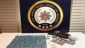 Bursada binlerce uyuşturucu hap ele geçirildi