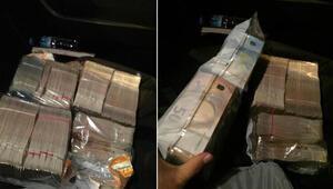 Taksicisi aracında unutulan 300 bin Euroyu sahibine teslim etti