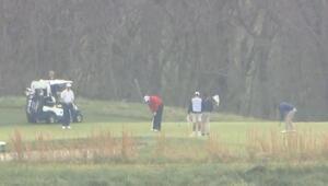 Trump, G-20 zirvesi sırasında golf oynamaya gitti