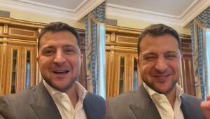 Ukrayna Devlet Başkanı Zelenskiy koronavirüsü atlattı