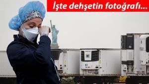 Son Dakika Haberler: ABDden tüyler ürperten görüntüler geldi.. Cesetler kamyonlarda saklanıyor.. O kareler dünya gündemine bomba gibi düştü