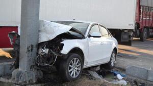 Manisada otomobiller çarpıştı: 7 yaralı