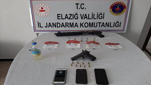 Elazığ'da uyuşturucu operasyonu: 3 gözaltı