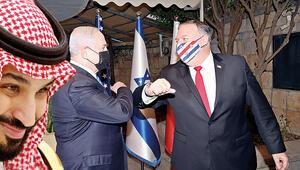 Netanyahu ile veliaht prens bir araya geldi mi Görüşme muamması