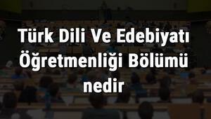 Türk Dili Ve Edebiyatı Öğretmenliği Bölümü nedir ve mezunu ne iş yapar Bölümü olan üniversiteler, dersleri ve iş imkanları