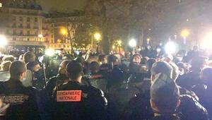 Paris'in göbeğinde içler acısı bir durum: Polis sığınmacıları kovaladı
